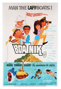 Walt Disney - The Boatniks (1970) movie poster