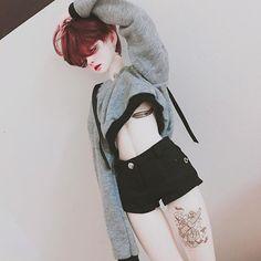 #bjd #dollstagram #littlemonica #gloomysophia #구체관절인형 #돌스타그램 #리틀모니카 #글루미소피아