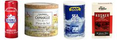 Sea Salt. Kosher Salt. Crazy Expensive Salt: What's the Deal? - differences in these salts explained.