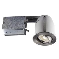 Bazz Recessed LED 3-in. Brushed Chrome Recessed LED Lighting Kit with GU10 Bulb Included-313LAB - The Home Depot