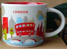 You Are Here – London – Starbucks Mugs