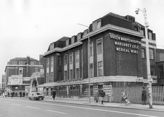 Queen Mary's Hospital, West Ham Lane, Stratford. May 1983.