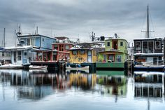 Houseboats on Westlake - Seattle, WA