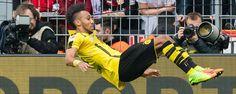 Dortmund Kecam Model Rambut Aubameyang