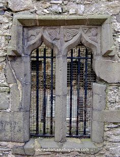 Love the medieval decorated windows of The Mint, at Carlingford, Co. Louth