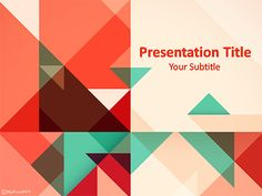 Templateswise feature a wide variety of free powerpoint powerpoint templates geometric google search toneelgroepblik Image collections