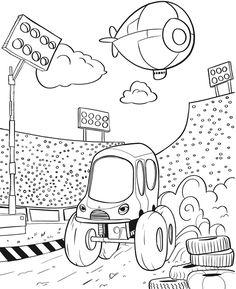 Vintage Monster Truck Coloring Book 70 Monster Trucks Coloring Book
