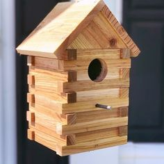 Our all cedar birdhouses are now available at the Saxonbu… Attention bird lovers! Our all cedar birdhouses are now available at the Saxonburg General Store! Perfect for several common local birds, go see for yourself! Bird House Plans, Bird House Kits, Bird House Feeder, Diy Bird Feeder, Birdhouse Designs, Birdhouse Ideas, Birdhouses, Bird Aviary, Bird Houses Diy