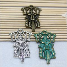 2-10pcs-27x44mm-Vintage-Alloy-Fashion-Soul-Charm-Pendant