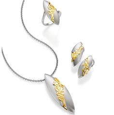 Sterling Silver at Keswick Jewelers in Arlington Heights, IL, www.keswickjewelers.com Simple Jewelry, Modern Jewelry, Metal Jewelry, Jewelry Art, Fine Jewelry, Jewelry Design, Fashion Jewelry, Arlington Heights, Jewellery Sketches