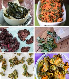 11 amazing kale chip recipes!