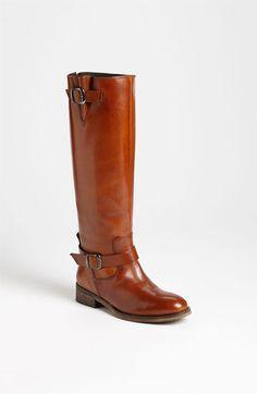 Laverdiere Riding Boots. Love the color!