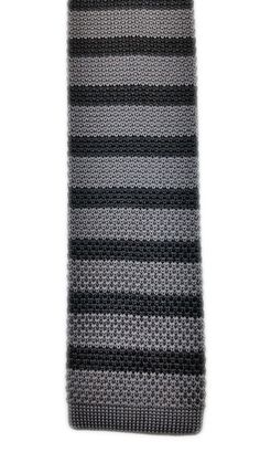 Black and Grey Square-Knit - Rade Men's Wear $18- In stock- Rademenswear.com