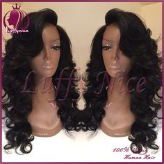 Find More Wigs Information about Cheap Full Lace Wig Brazilian Virgin Front Lace wig Human Hair Wigs with Baby Hair For Black Women Body Wave U Part Wigs on Sale,High Quality wig gray,China wig hair color chart Suppliers, Cheap wig head from luffy nice hair store on Aliexpress.com
