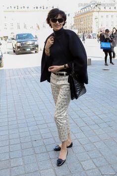 Parisian chic: Ines de la Fressange