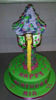 Rapunzel cake number 2