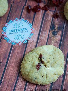 Cookies aux canneberges et au chocolat blanc – Marmotte cuisine !