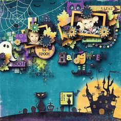 Halloween Scrapbook Ideas – Just Imagine – Daily Dose of Creativity