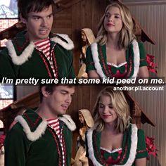 """#PLL 5x13 """"How the 'A' Stole Christmas"""" - Caleb and Hanna"""
