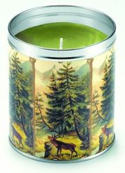 Aunt Sadie's Moose in the Woods Candle