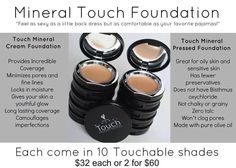 Touch Foundation Pressed Powder Foundation, Natural Foundation, Mineral Foundation, Foundation Brush, Lightweight Foundation, Flawless Foundation, Perfect Foundation, Younique Touch Foundation, Oily Skin