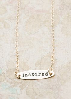 My word for 2013 is 'inspired'. Here's to a new year and new beginning!