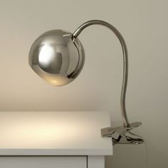 Modern Clip Lamp (Silver)  | The Land of Nod