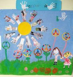 International Day, Kindergarten, October, Toy Story, Peace, War, Activities, Blog, Crafts