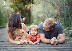 photo famille parterre