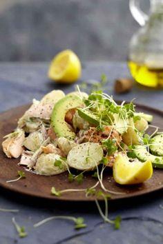 Trout, Horseradish & Baby Potato Salad