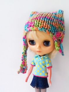 Tutti Frutti Hat Knitting Pattern, Free.