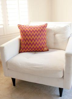 Indian Summer Alpaca Pillow