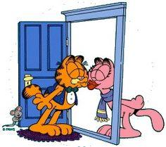 Garfield... Garfield and Arlene...❤