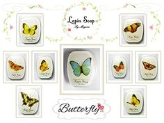 LapinSoap 9 Bar Butterfly Set Handmade 100 Glycerin Soap *** Want to know more, click on the image.(This is an Amazon affiliate link and I receive a commission for the sales)