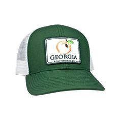 86f08edf125 Georgia Patch Trucker Hat