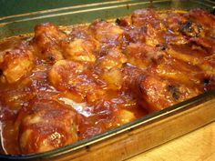 BBQ chicken legs in the oven! Yumm!!