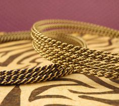 18 gauge Twisted  Wire  Gold and Vintage Bronze by UnkamenSupplies, $10.00