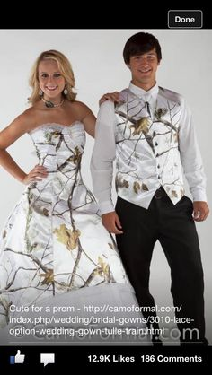 White camo dress might get for prom :))
