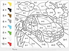 Coloring Math Activities for Middle School Best Of Grade Math Coloring Pages.Coloring Math Activities for Middle School Best Of Grade Math Coloring Pages – Redbirdcolor. Coloring Worksheets For Kindergarten, Addition And Subtraction Worksheets, Kindergarten Math Worksheets, Math Addition, Number Worksheets, Math Subtraction, Addition Facts, Worksheets For Kids, Printable Worksheets