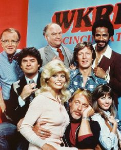 WKRP In Cincinnati (1978–1982) ~~ Comedy ~~ The staff of a struggling radio station have a chance at success after the new programming director changes the format to rock music