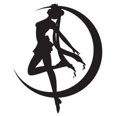 black and white sailor moon - Google Search