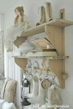 #shabby shelf