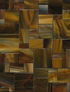 Cedar Tavern Glass Mosaic Tile - Sundae Blend, 1 Sheet (.897 Square Feet) - eclectic - Tile - Mission Stone Tile