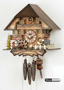 Cucoo Clocks da Floresta Negra na Alemanha