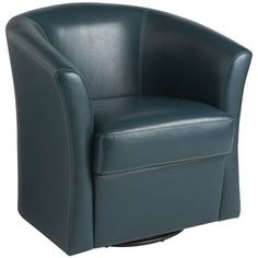 Playroom perfection - (can't tell in this pic but teal is ammmmaaazing!) Pier 1 -Isaac Swivel Chair - Teal