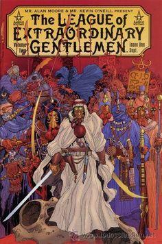 THE LEAGUE OF EXTRAORDINARY GENTLEMEN, SERIE LTDA. COMPLETA DE 6 NÚMEROS, ABC-DC COMICS, 2.002. USA