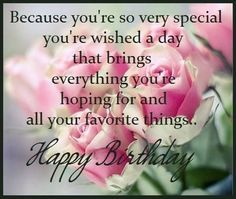 Image Result For Birthday Wishes For A Special Lady Special