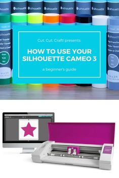 These step-by-steps instructions will guide you through how to use the Silhouette CAMEO If you have an older model, the basics will still apply but some of the specifics might be different. Silhouette School, Silhouette Cutter, Silhouette Curio, Silhouette Machine, Silhouette Design, Silhouette Cameo Cards, Silhouette Mint, Silhouette America, Silhouette Files