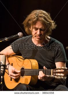 BUDAPEST - SEPTEMBER 27: Guitarist Dominic Miller performs on the stage of Millenaris September 27, 2009 in Budapest, Hungary.