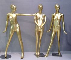 "cafe design: gold mannequins    /////////////////////////////  Cafe/Fashion pop up-shop : french, traditional  ""Where fine fashion, coffee and french desserts elegantly collide"""